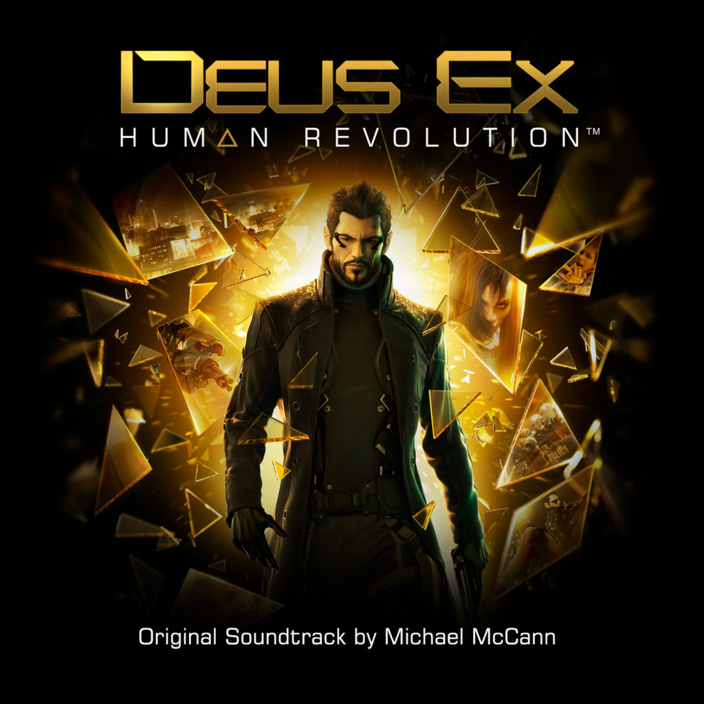 Deus Ex: Human Revolution Soundtrack Cover 1448px