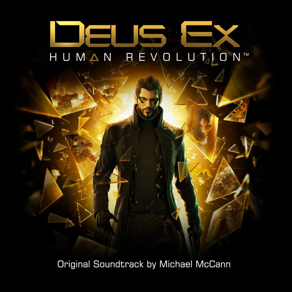 Deus Ex: Human Revolution Soundtrack Cover 1448px