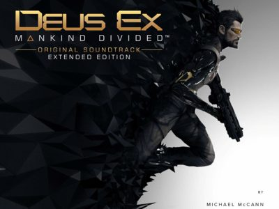Deus Ex: Mankind Divided Soundtrack Cover 1500px