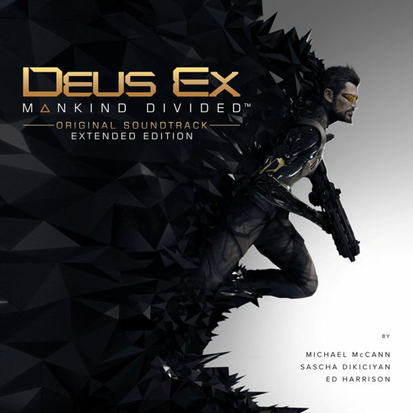 Deus Ex: Mankind Divided Soundtrack Cover 1500px