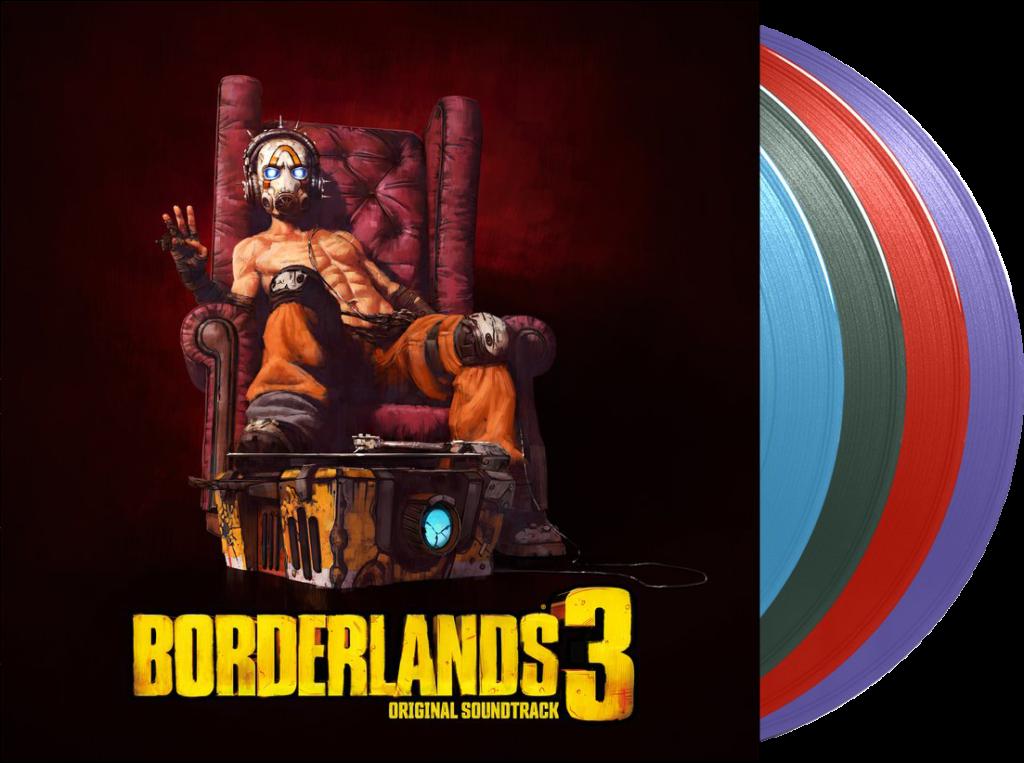 Borderlands 3 Vinyl Deluxe w Disc